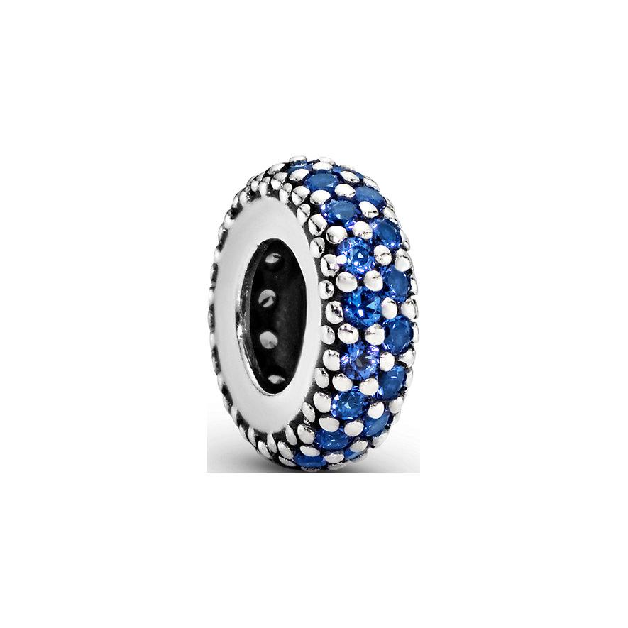 Pandora Charm Colours Blaues Funkelndes Zwischenelement 791359NCB