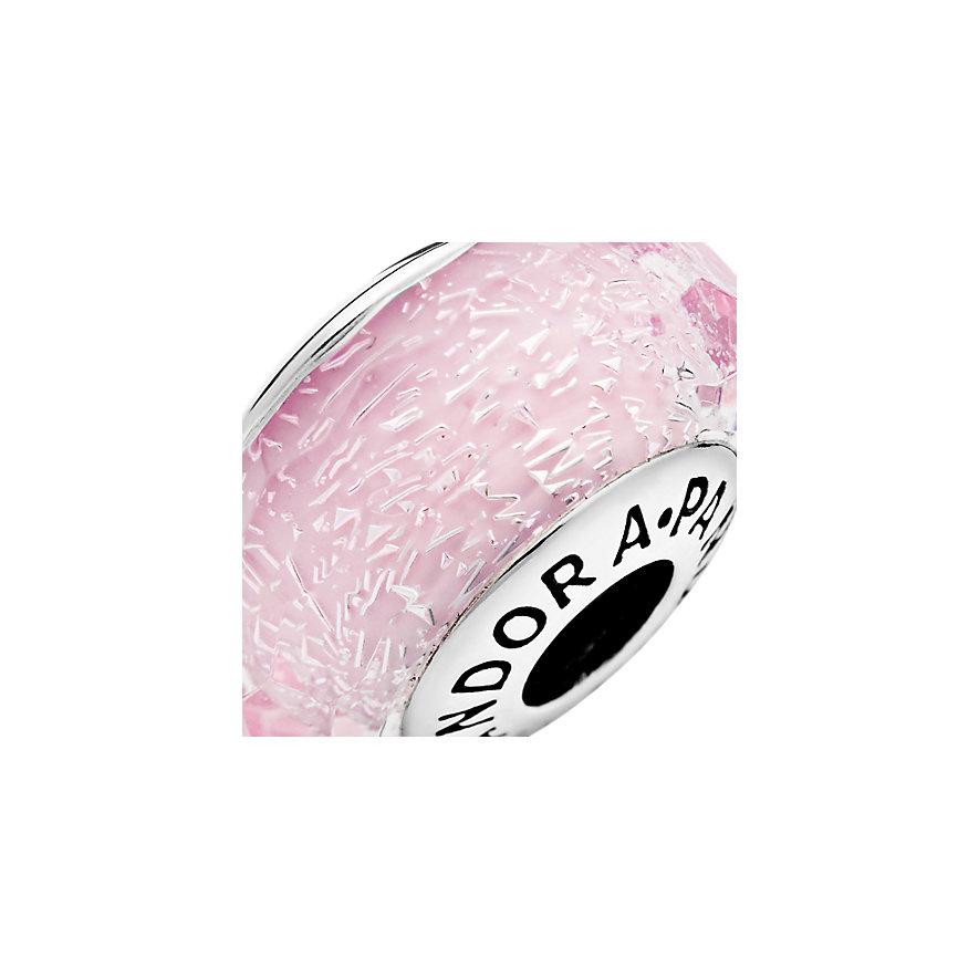 Pandora Charm Colours Facettiertes rosafarbenes Murano-Glas 791650