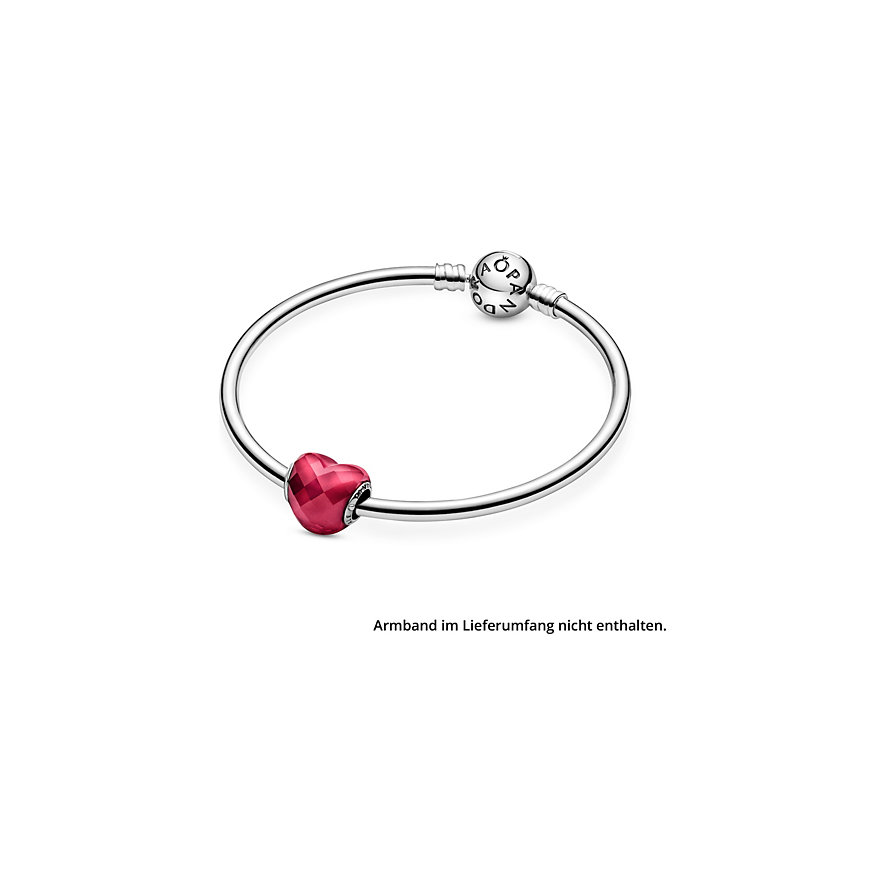 Pandora Charm Colours Fuchsia Herz 796563NFR