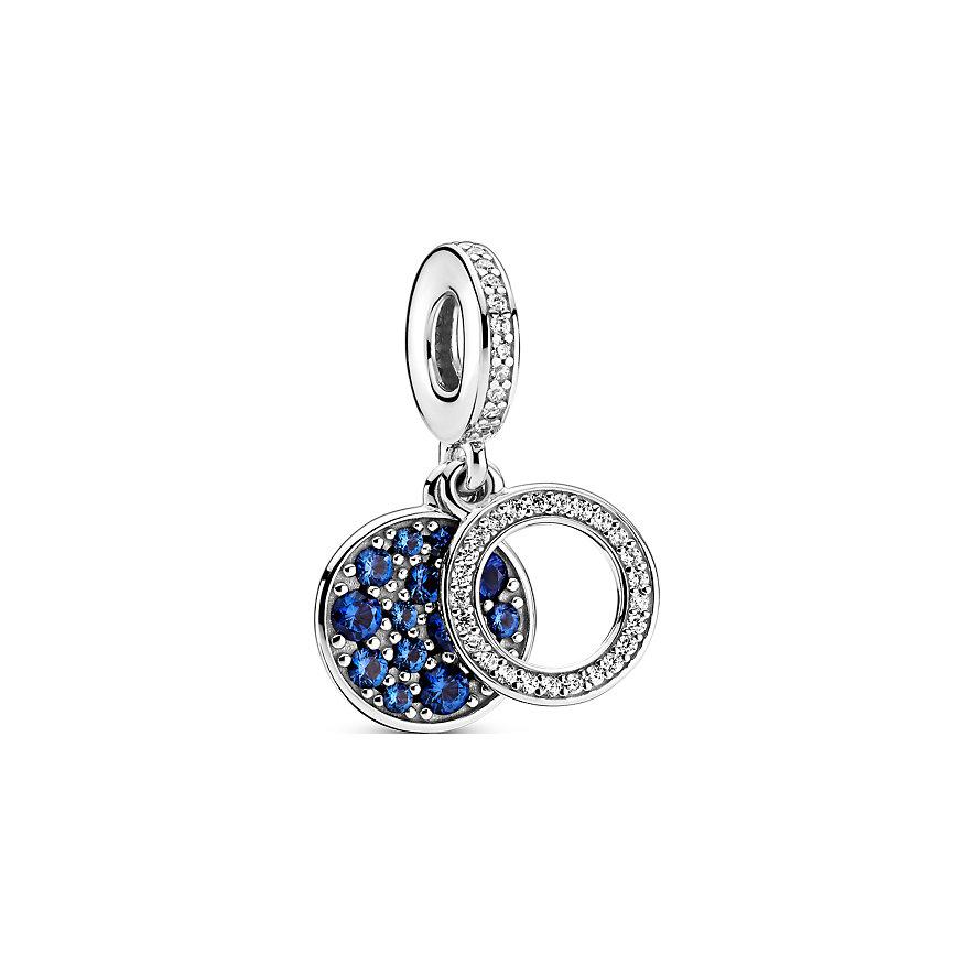 Pandora Charm Colours Funkelnde blaue Scheibe 799186C01