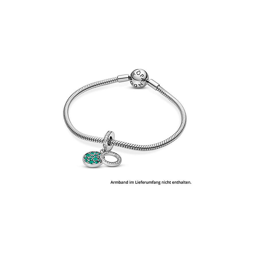 Pandora Charm Colours Funkelnde Grüne Scheibe 799186C02