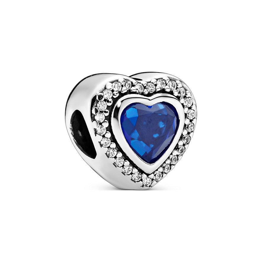 Pandora Charm Colours Funkelndes Blaues Herz 797608NANB