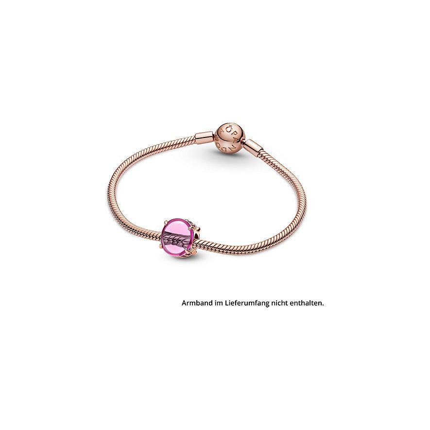 Pandora Charm Colours Rosafarbenes Ovales Cabochon 789309C02