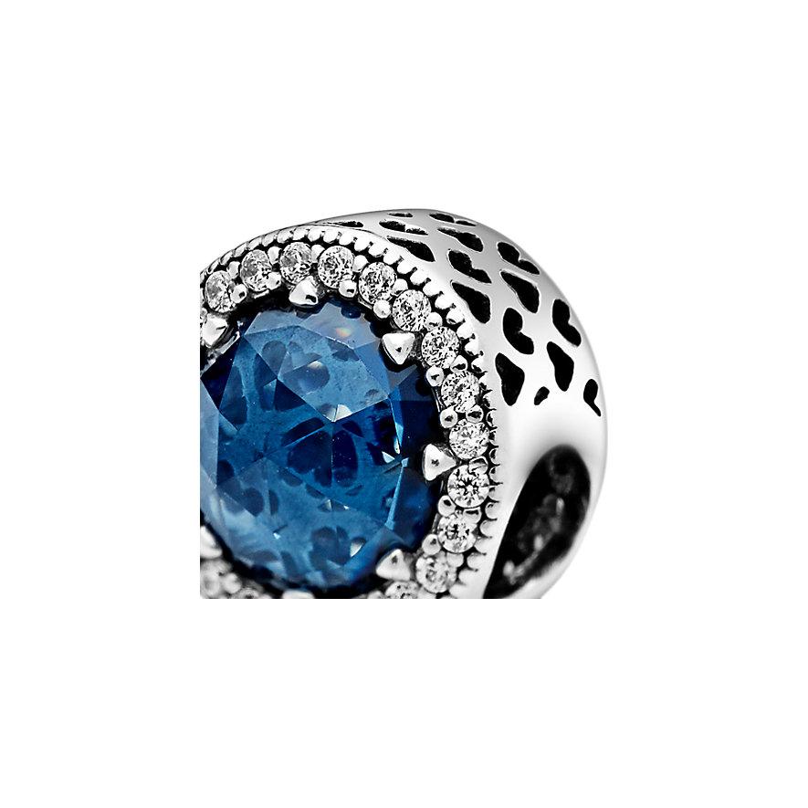 Pandora Charm Colours Sparkling Dark Blue 791725NMB