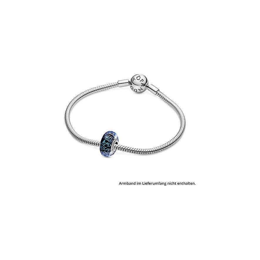 Pandora Charm Colours Welliges dunkelblaues Ozean Murano-Glas 798938C00