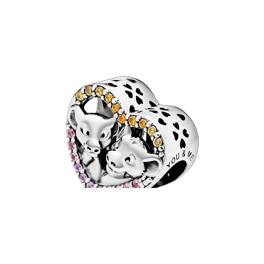 Pandora Charm Disney x Pandora Der König der Löwen Simba und Nala Herz  798044NPRMX