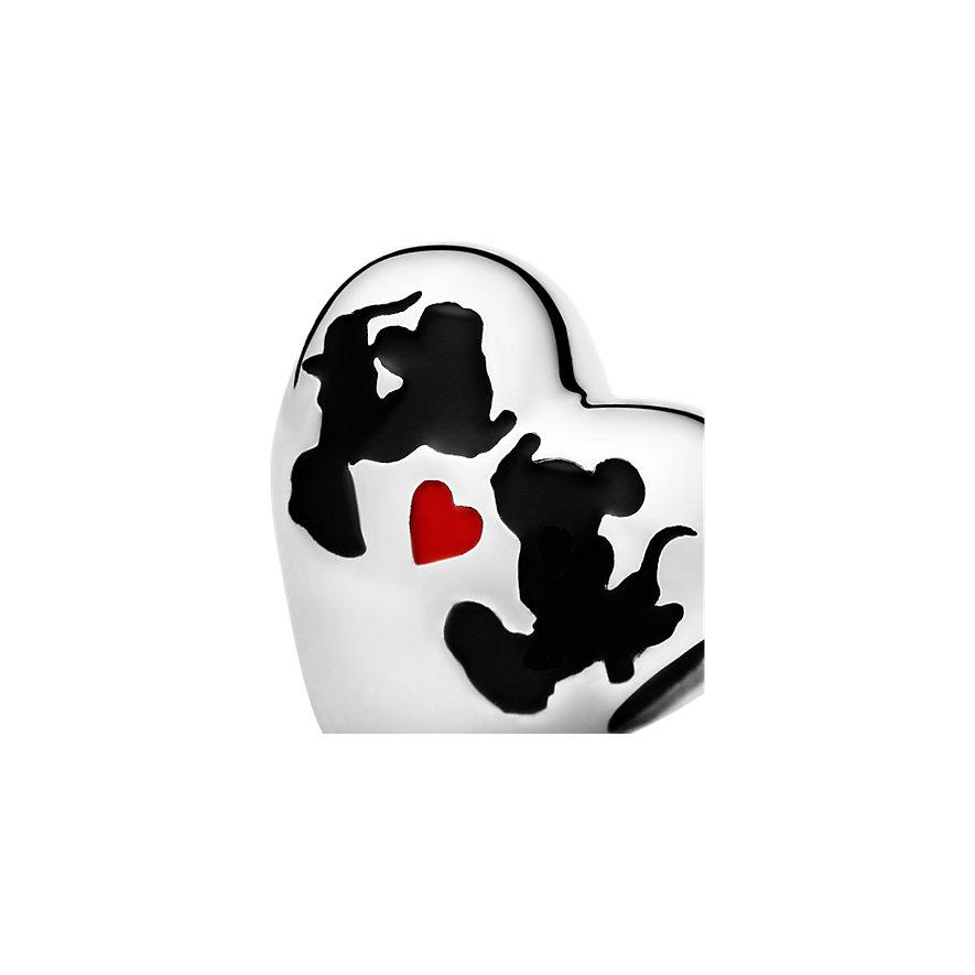 Pandora Charm Disney x Pandora Disney, Minnie Mouse & Mickey Mouse Kiss 791443ENMX