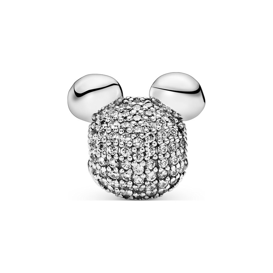 Pandora Charm Disney x Pandora Micky Maus Pavé Clip 797495CZ