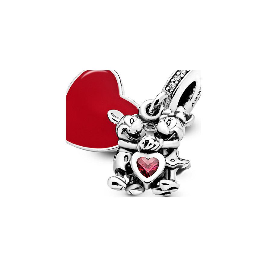 Pandora Charm Disney x Pandora Micky Maus und Minnie Maus Liebe 797769CZR