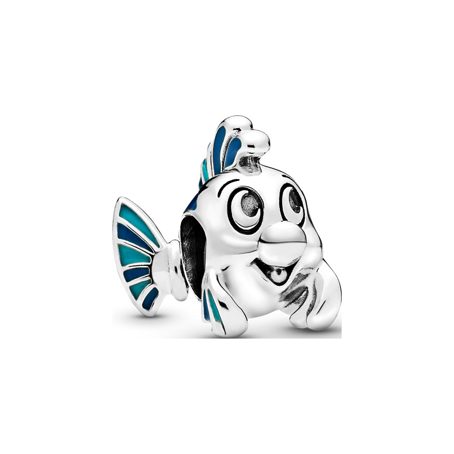 Pandora Charm Disney x Pandora The Little Mermaid Flounder Fabius 798230ENMX