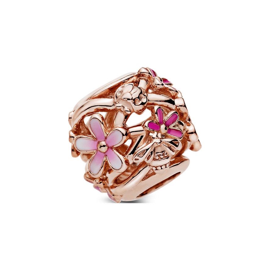 Pandora Charm Garden Offen gearbeitetes rosafarbenes Gänseblümchen 788772C01