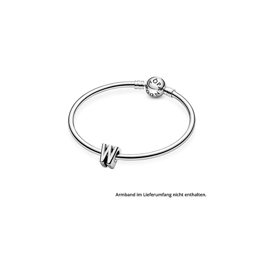 Pandora Charm ID Buchstabe W  797477