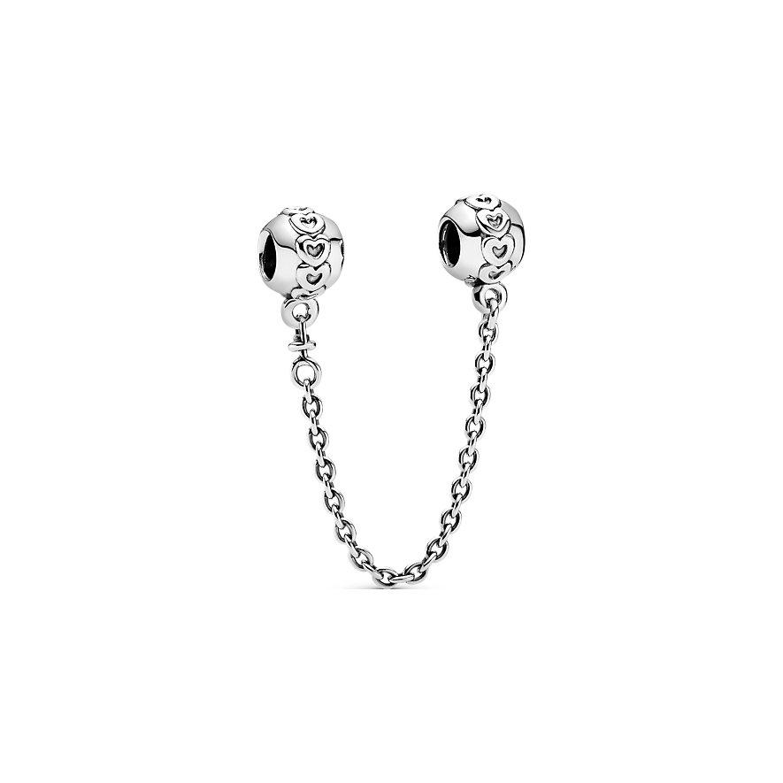Pandora Charm Moments Gereihte Herzen Komfortkette 791088-05