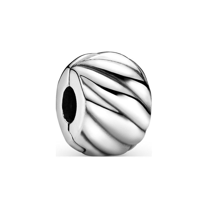 Pandora Charm Moments Polierter Gefiederter Clip 791752
