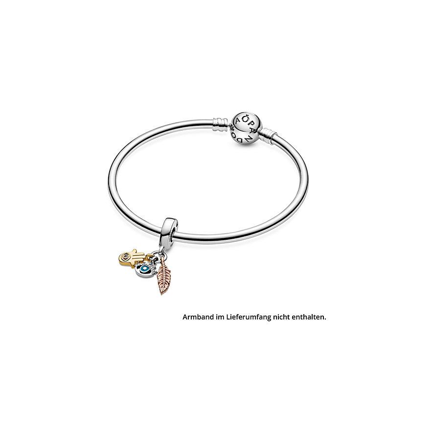 Pandora Charm Passions Hand der Fatima, Auge der Vorsehung & Feder  768785C01