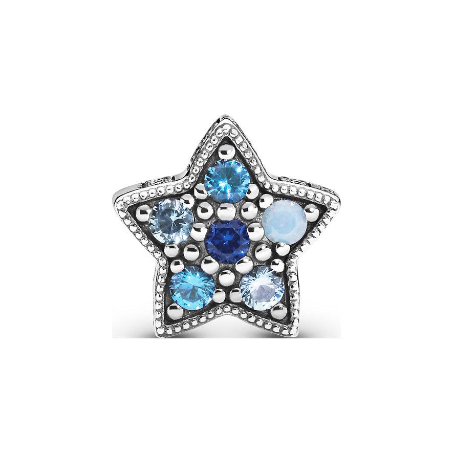 Pandora Charm Passions Leuchtend Blauer Stern 796379NSBMX