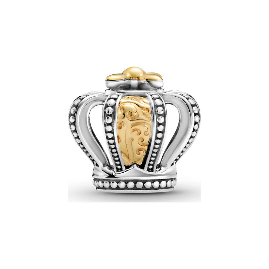 Pandora Charm Passions Zweifarbige königliche Krone 799340C00