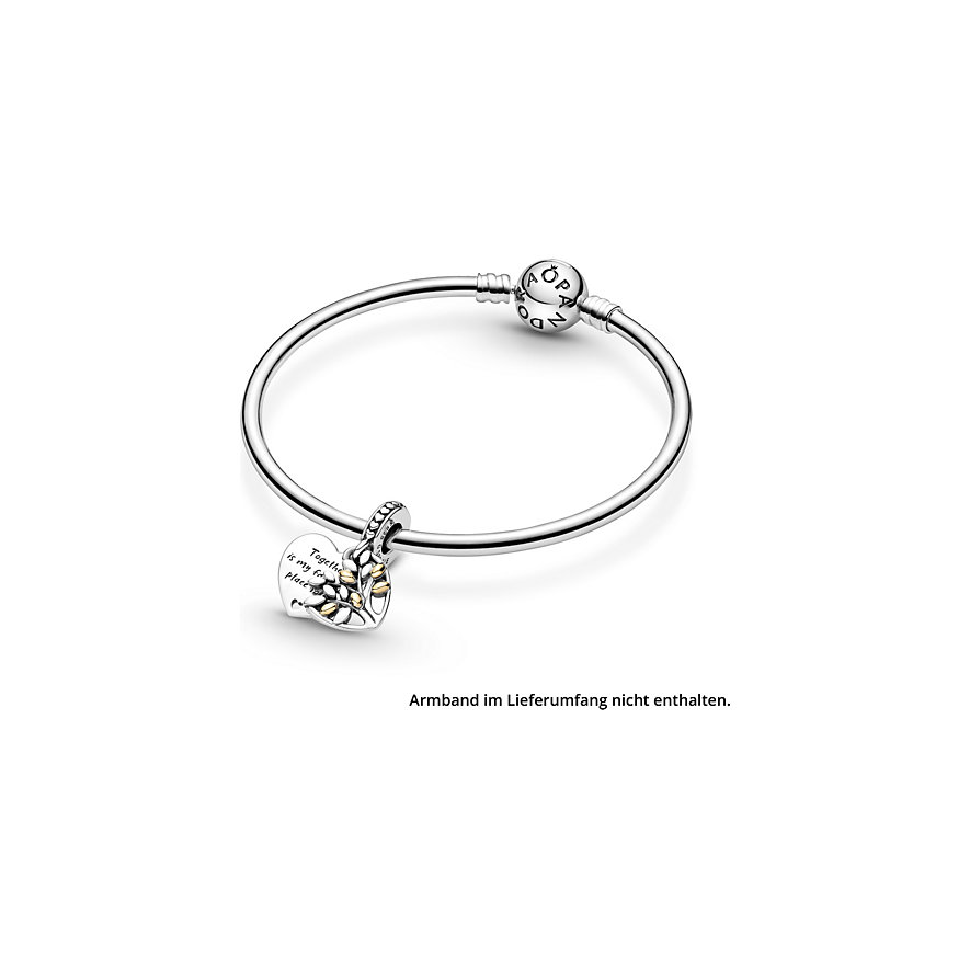Pandora Charm People Bicolor Stammbaum Herz 799161C00