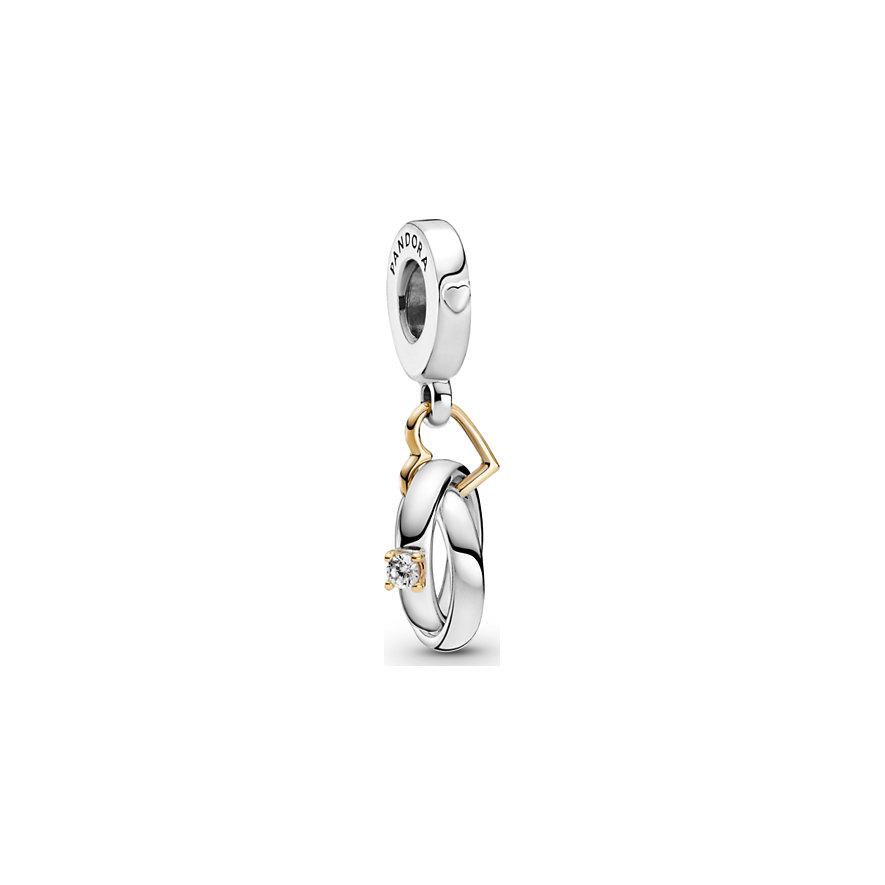 Pandora Charm People Zweifarbige Hochzeitsringe 799319C01