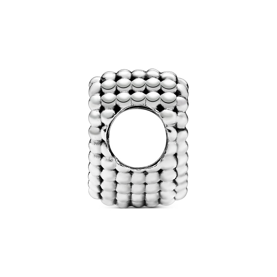 Pandora Charm Purely Pandora Offenes Metallperlen Herz 797516