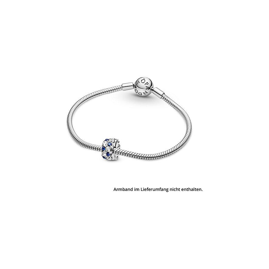Pandora Charm Timeless Klarer & blau funkelnder Clip 799171C01