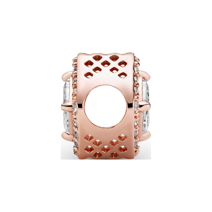Pandora Charm Timeless Quadratischer funkelnder Strahlenkranz 786206CZ