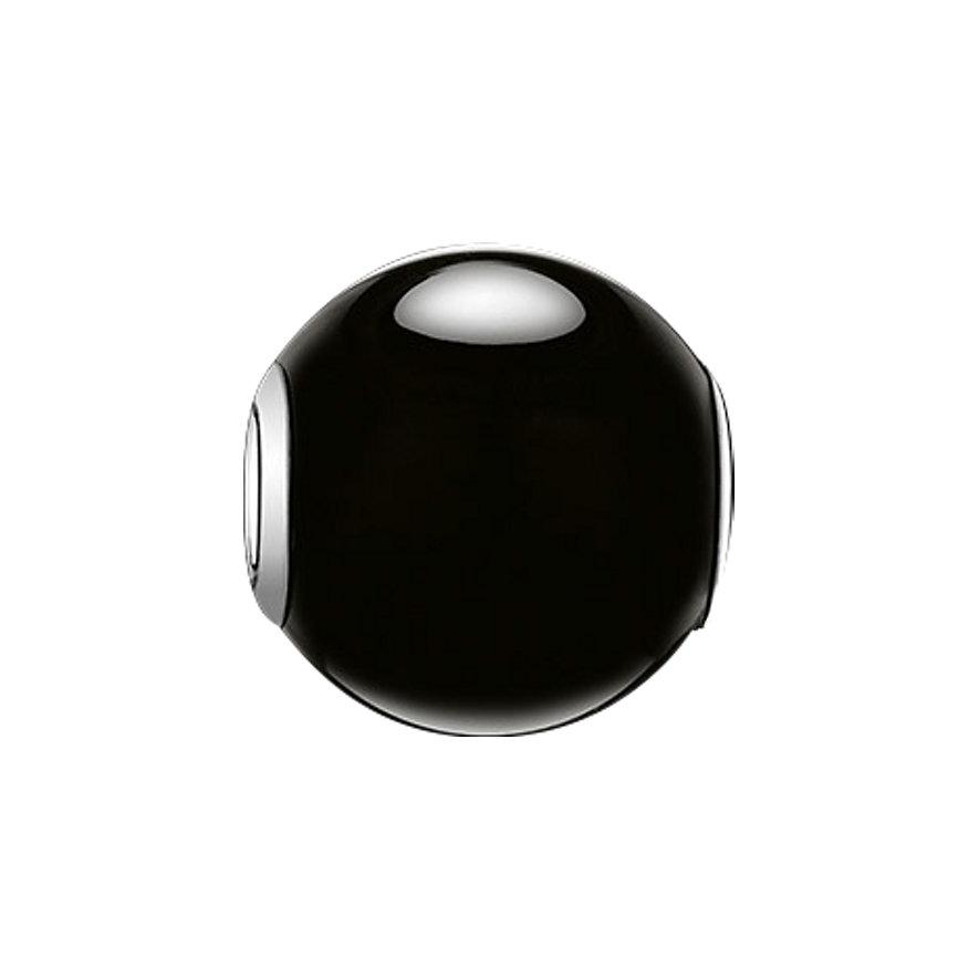 Thomas Sabo Karma Bead K0002-023-11 Obsidian