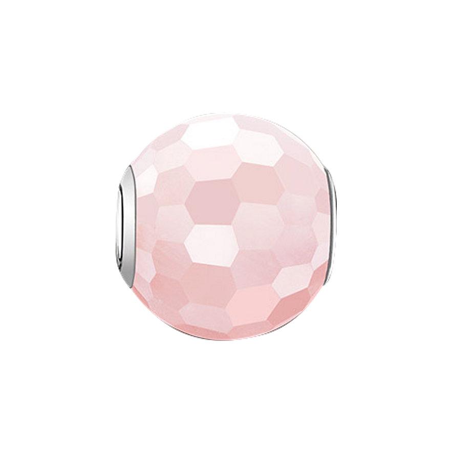Thomas Sabo Karma Bead K0005-034-9 pink Rosenquarz