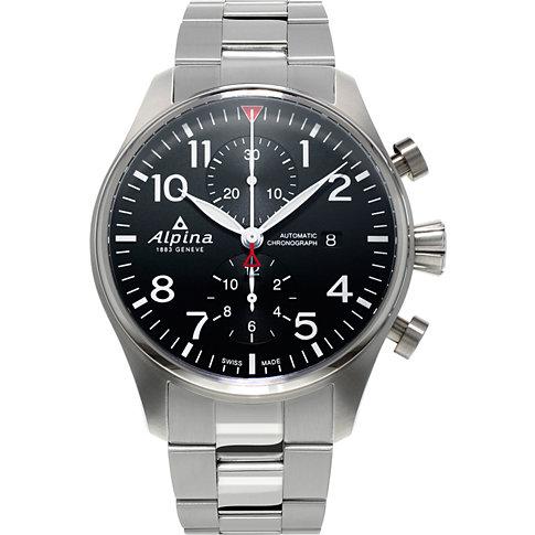 Alpina Chronograph Startimer Pilot AL-725B4S6B