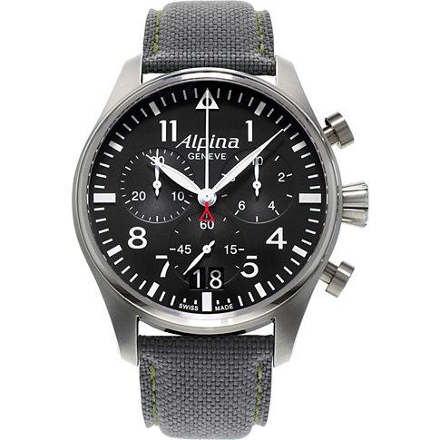 Alpina Chronograph Startimer Pilot Big Date AL-372B4S6