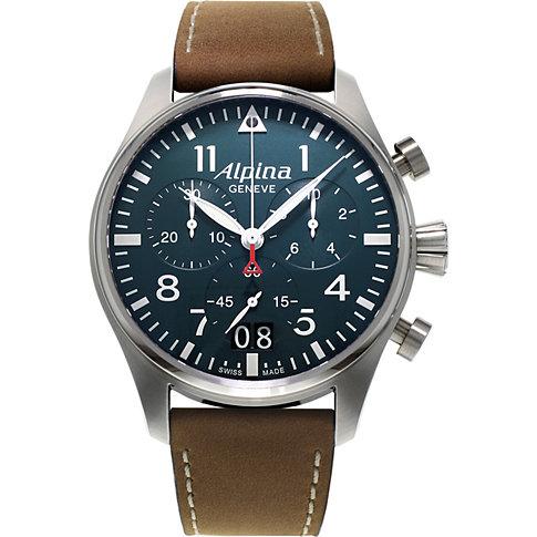 Alpina Chronograph Startimer Pilot Big Date AL-372N4S6