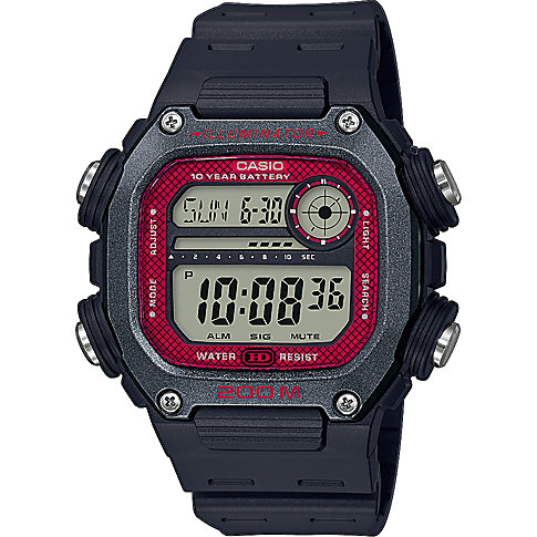 Casio Herrenuhr Casio Collection Men DW-291H-1BVEF