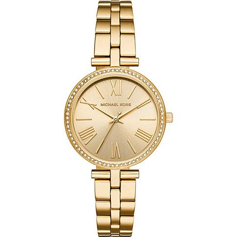 Michael Kors Uhr in gold echtgold beschichtet