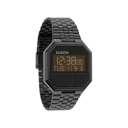 Nixon Armbanduhr Re-Run All Black A158 001