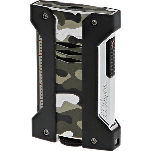 S.T. Dupont Feuerzeug Li Defi Extreme Grey Camo 021410