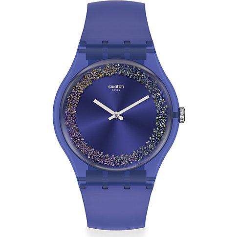 Swatch Unisexuhr Purple Rings SUOV106
