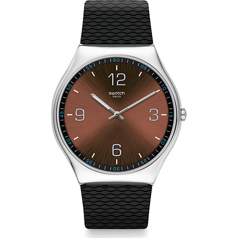 Swatch Unisexuhr Skin Ristretto SS07S107