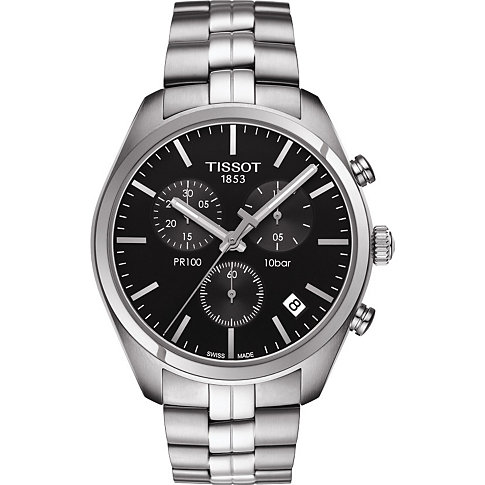 4e7d5bd972 Tissot PR100 Chronograph Classic T101.417.11.051.00 ...