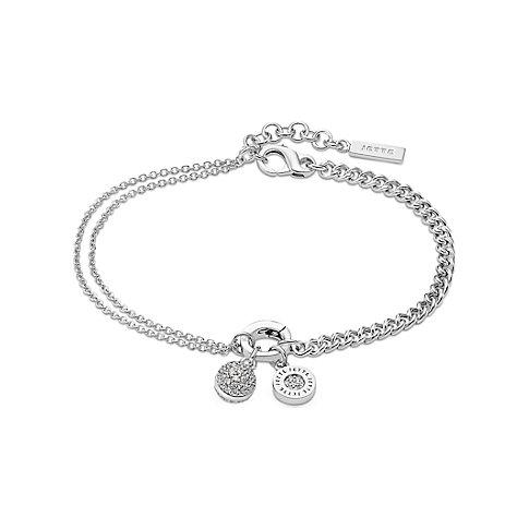 angenehmes Gefühl erster Blick Steckdose online JETTE Silver Armband Highlight