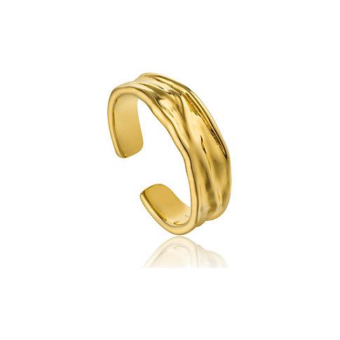 Ania Haie Damenring Crush Adjustable Ring R017-01G