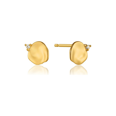 Ania Haie Ohrstecker Crush Disc Stud Earrings E017-01G