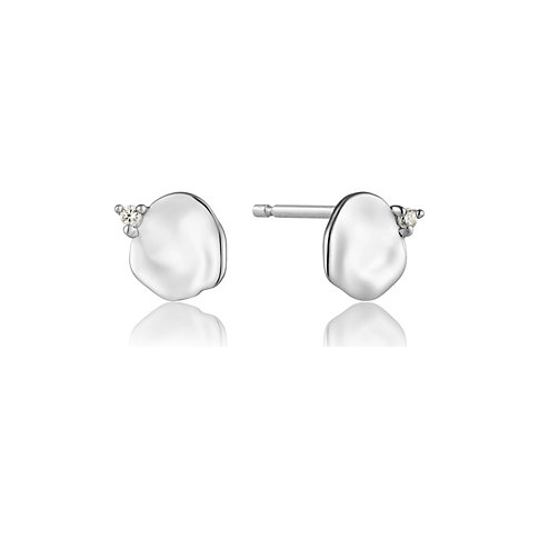 Ania Haie Ohrstecker Crush Disc Stud Earrings E017-01H
