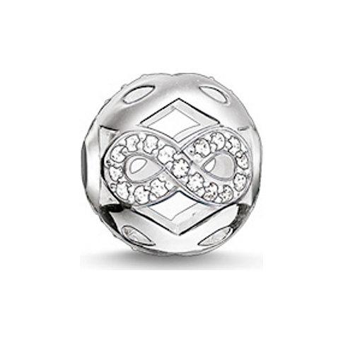 Thomas Sabo Charm Infinity Weiß K0172-051-14