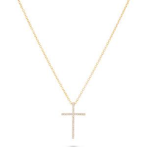 Goldkette mit kreuz  Kreuzanhänger jetzt online bei CHRIST.de kaufen