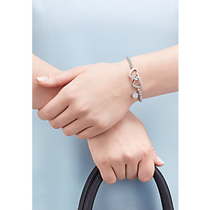 JETTE Silver Armband Moments of Love  86878542