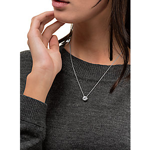 JETTE Silver Collier Basic