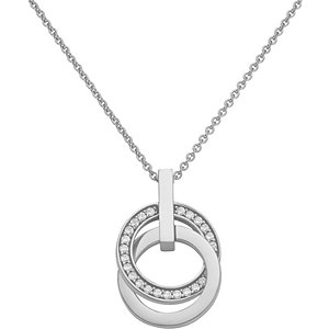 JETTE Silver Collier Swing
