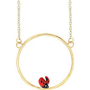Nach Bijoux Kette Mini Ladybug U154
