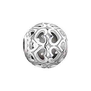 THOMAS SABO Karma Bead K0006-001-12 Cut Out Herzen