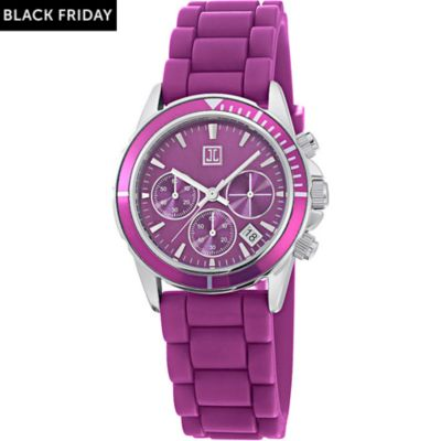 JETTE Time Damenchronograph Rock Solid Berry
